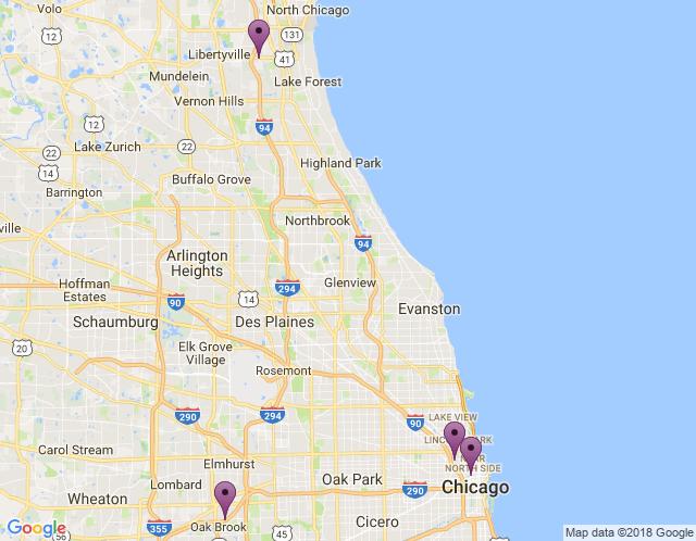 Map of Sales Showroom
