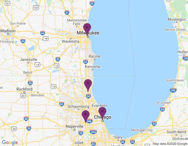 Map of Merchandise Mart Showroom